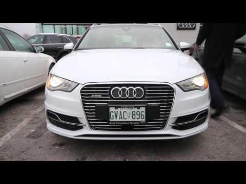 Audi A3 ETron PHEV plug in hybrid electric car test drive part 2