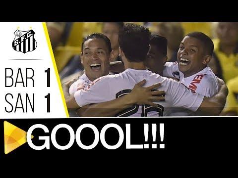 Barcelona 1 x 1 Santos | GOL | CONMEBOL Libertadores Bridgestone (13/09/17)