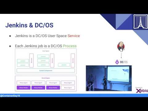 Paris Container Day 2016 : Deep dive into one of the application of DC/OS : Velocity.