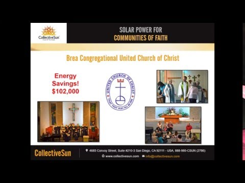 Solar Financing for Congregations with CollectiveSun