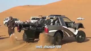 Dağ canavarı çöl arabası