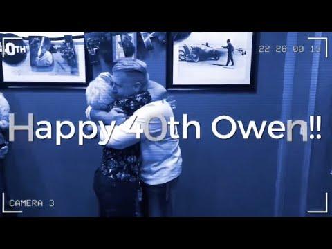 Happy 40th Birthday Owen!