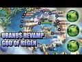 URANUS REVAMP SKILL EXPLANATION 😵 60% HP AND SHIELD REGEN