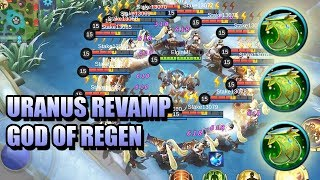 URANUS REVAMP SKILL EXPLANATION 😵 60% HP AND SHIELD REGEN