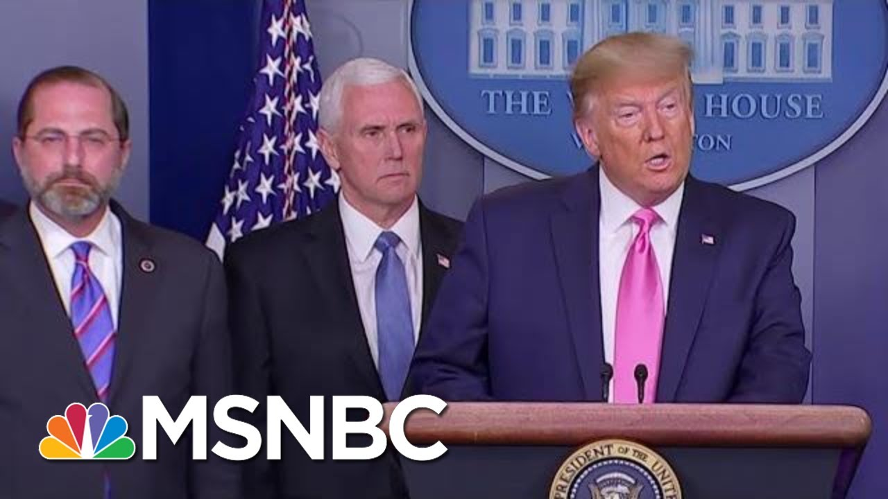 Amid Worries About Coronavirus, Trump Tries To Discredit Institutions & Media | MTP Daily | MSNB