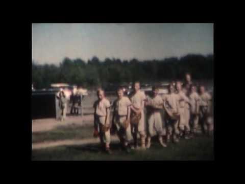 Baseball at Chikaming field in Harbert Michigan 1960