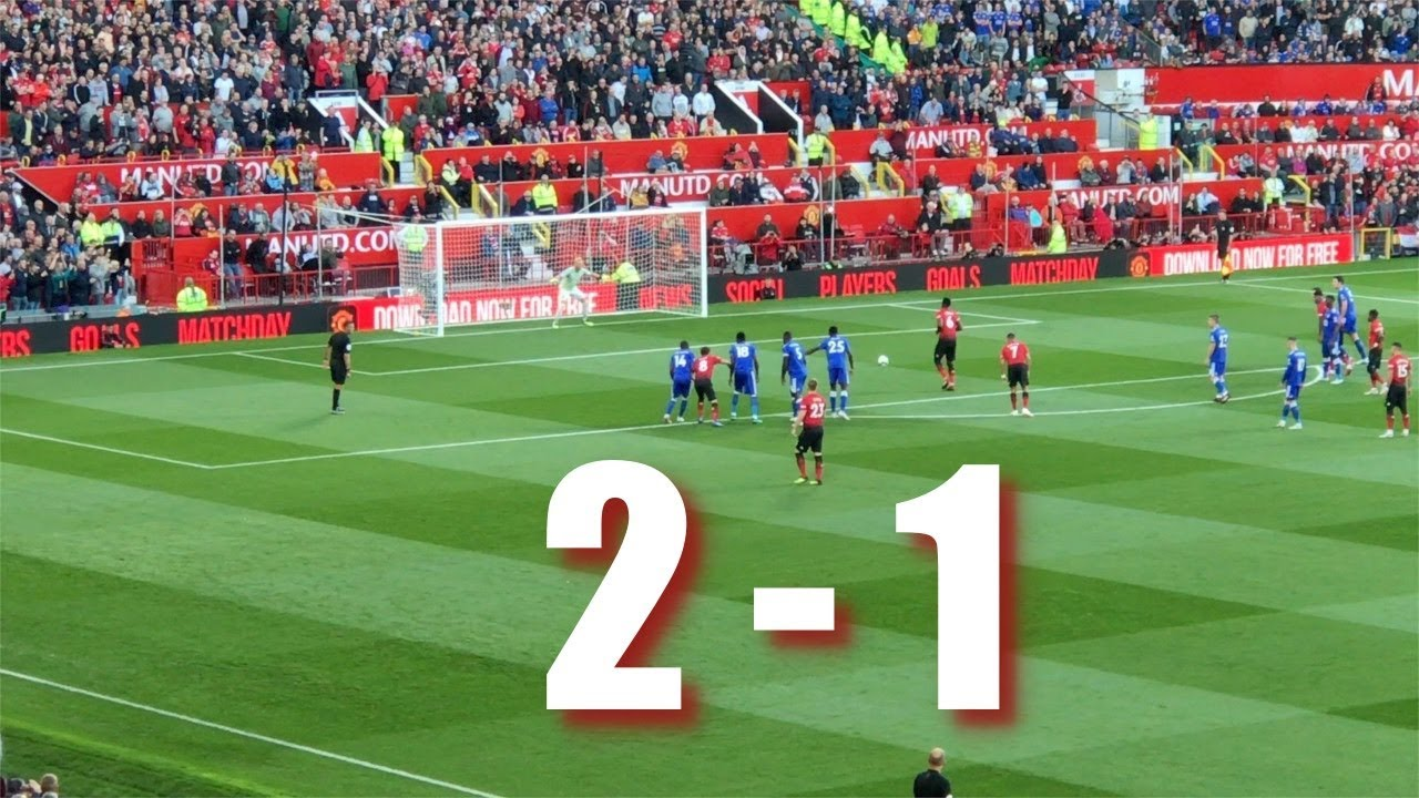 Manchester United Fc V Leicester City Premier League  The Match