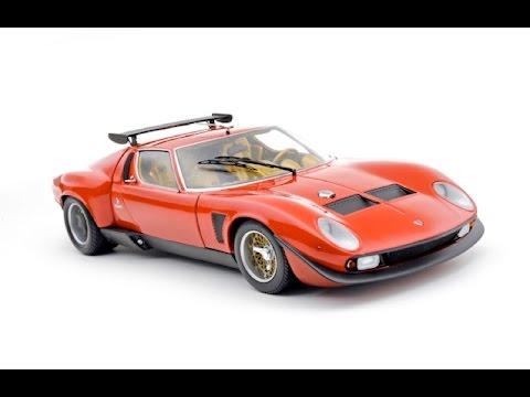Lamborghini Jota Svr 1 18 Kyosho Youtube