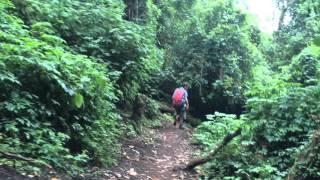 Lago Atitlán, Guatemala: Abstieg vom Vulkan San Pedro - Mittelamerika 2015
