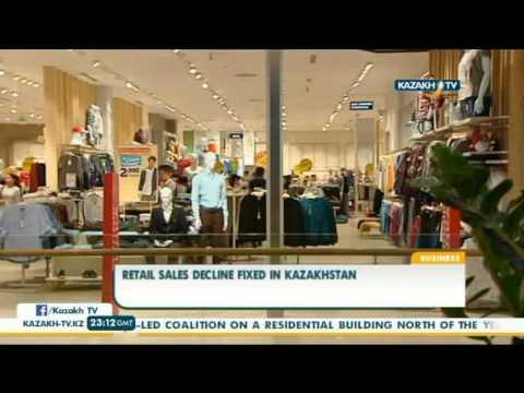 Retail sales decline fixed in Kazakhstan - Kazakh TV