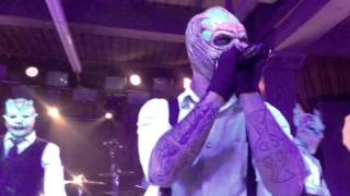 Mushroomhead QWERTY live 1-25-2015 Knoxville Tn