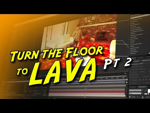 How to Turn the Floor into LAVA!  Tutorial Pt 2 of 2