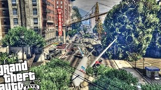 INCREDIBLE 'THE LAST OF US' MAP - GTA 5 PC MOD