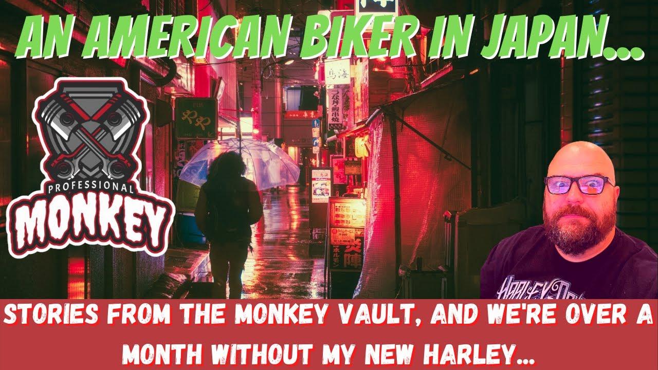 What was behind the RED DOOR? An American Biker in Japan...