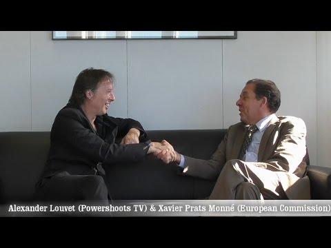 "Xavier Prats Monné - Interview by Alexander Louvet   Powershoots TV ""Positive Energy in Europe"""