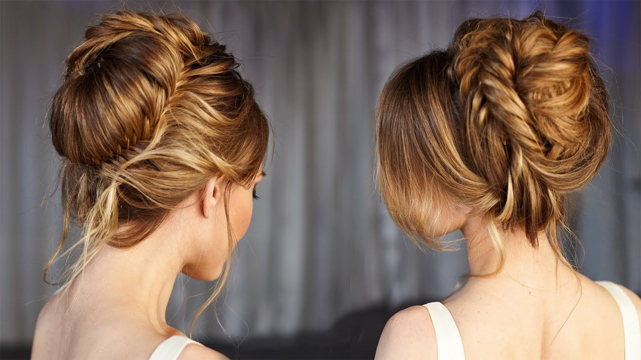 elegant wedding updo prom hairstyles