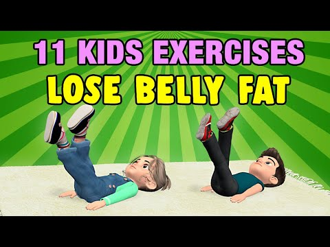 11 Kids Exercises To Lose Belly Fat At Home