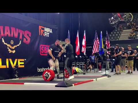 Giants Live Wembley and The World Deadlift Championships - Behind The Scenes.