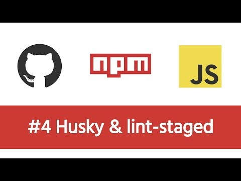 Build a Modern JS Project - #4 Pre-commit with Husky & lint-staged
