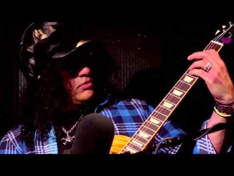 Slash on collaborating with Ronnie, and his first guitar!