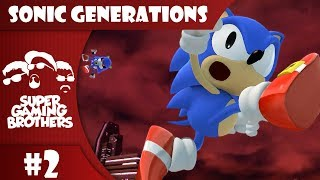 SGB Play: Sonic Generations - Part 2 | Classic Battles!