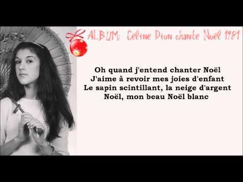 ♕ Noël Blanc [Céline Dion] 1981