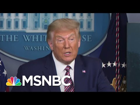 NYT Obtains Two Decades Of Trump's Tax Returns Revealing Years Of Tax Avoidance   MSNBC
