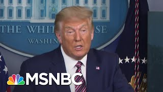 NYT Obtains Two Decades Of Trump's Tax Returns Revealing Years Of Tax Avoidance | MSNBC