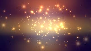 60:00 Minutes ~Golden Moving Stars~ Longest (!!!) FREE HD Motion Background AA VFX