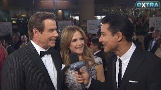 Golden Globes 2017: John Travolta Reflects On Carrie Fisher & Robert Shapiro