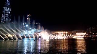 elissa habali habibi Dubai fountain Burj khalifa