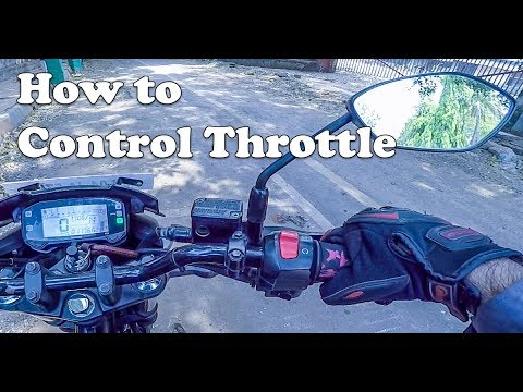 How to Control Throttle (Acceleration) in Your Motorcycle [Hindi]