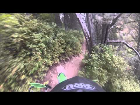 Burns Creek Trail - Awesome Single Track by David Haynes