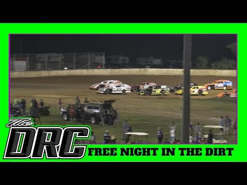 Florence Speedway | 5/12/18 | Slicker Graphics Modifieds | Free Night In The Dirt