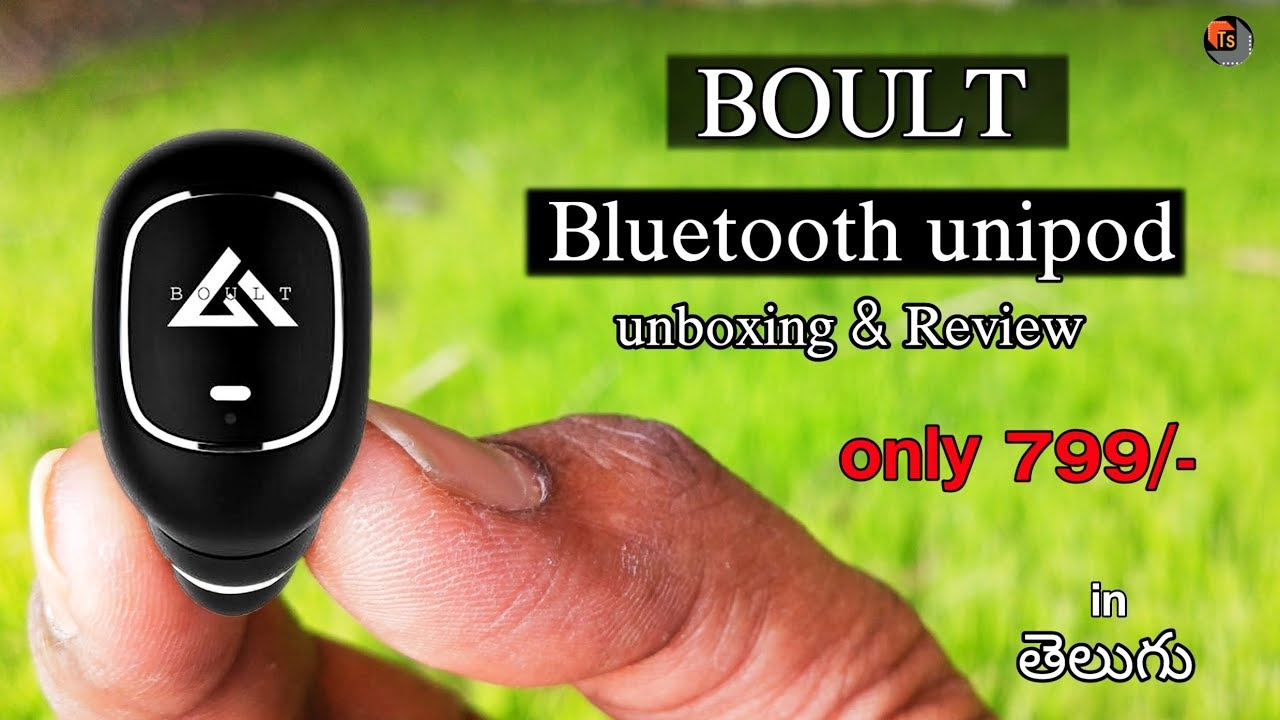 278199f03ffd87 BOULT Audio Unipod Unboxing and Review In Telugu | BOULT Audio Unipod Wireless  Ear Bud With Mic ...
