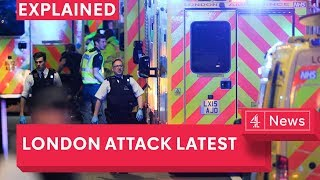 Terrorist attack in London: the latest