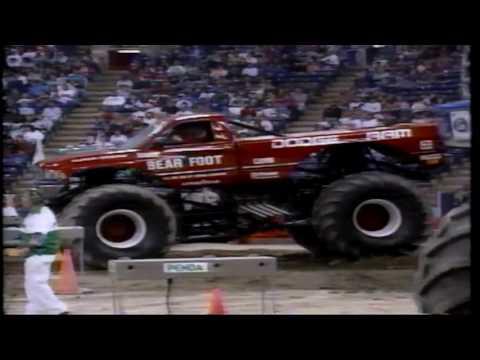 1993 PENDA Monster Truck Challenge RCA Dome *Rare Broadcast*