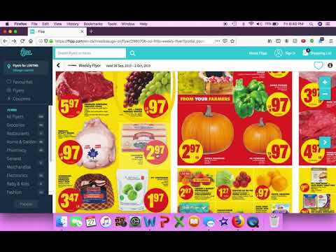WEEKLY GROCERY FLYERS | FOOD BASICS | WALMART | NO FRILLS | TERRA FOODMART | | HOW TO USE FLIPP