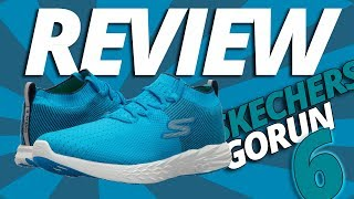 Skechers GOrun 6 REVIEW: confort a otro nivel