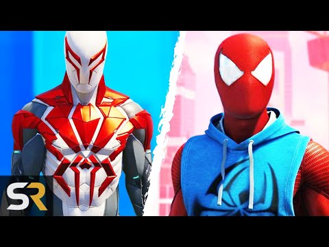 25 Most Amazing Spider-Man Suits