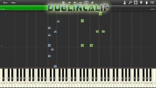 Undertale - Menu Full Theme Piano Tutorial Synthesia
