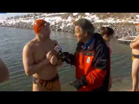 Fox 13 reports on New Years Day Swim in the Great Salt Lake