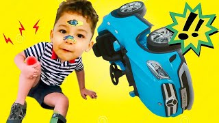 The Boo Boo Story from Ethan and Callum | The Boo Boo Song Nursery Rhymes