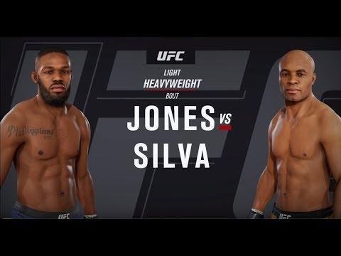 EA SPORTS UFC 3 Gameplay! JONES VS SILVA - Xbox One X 4K Gameplay!