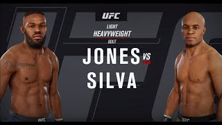 EA SPORTS UFC 3 Gameplay! JONES VS SILVA - Xbox One X 4K Gameplay!