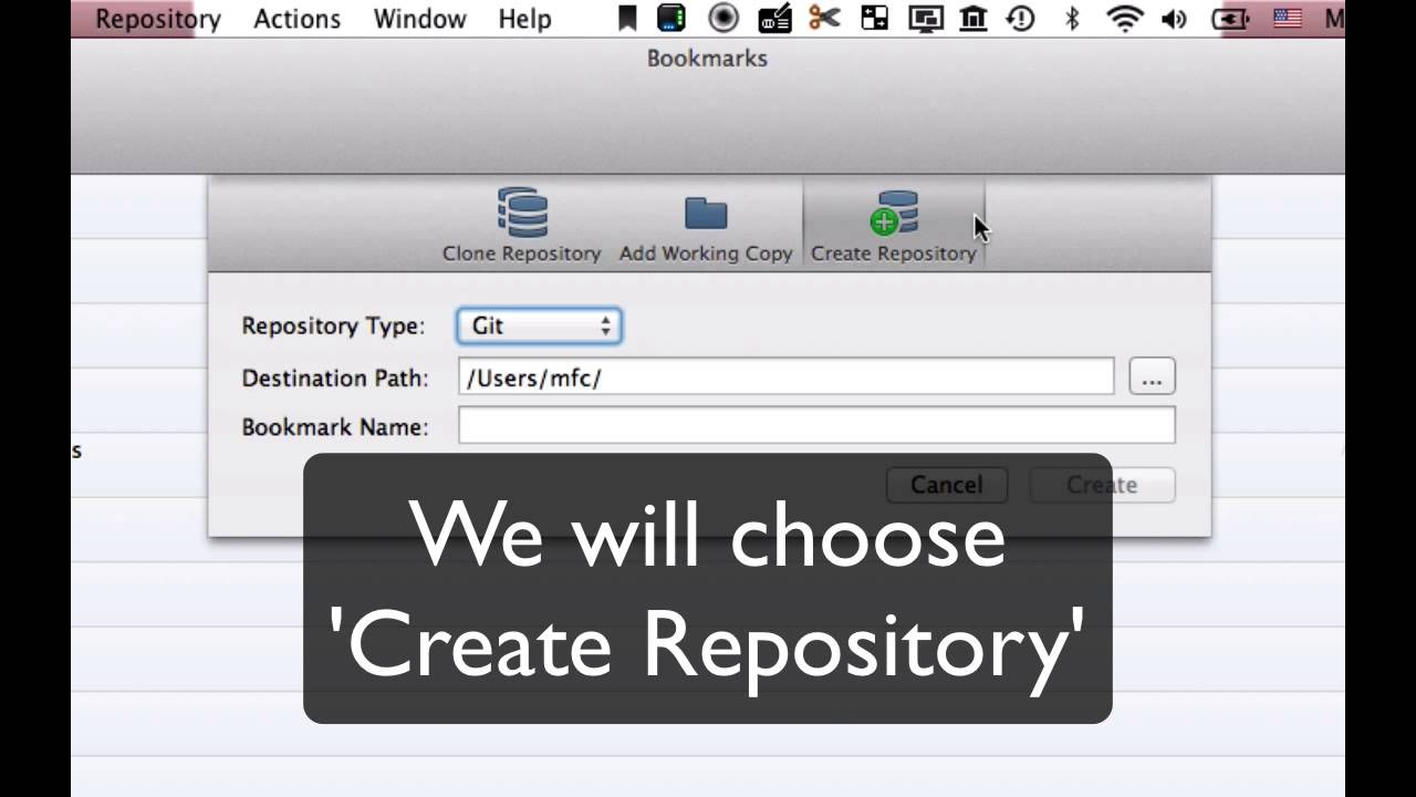 how to add new repository in git