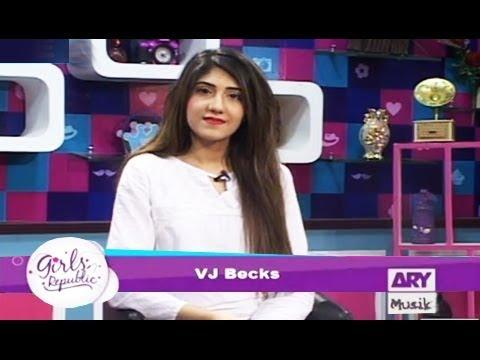 Girls Republic | VJ Backs  |Apki Zindagi Ka Koi ek Rule | ARY Musik