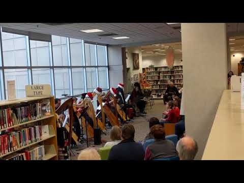 Harps for the Holidays with the Colorado Celtic Harp Society