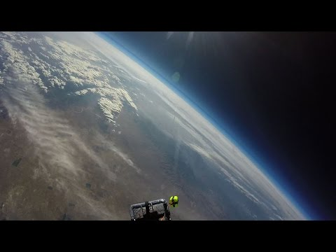 GoPro into outer SPACE