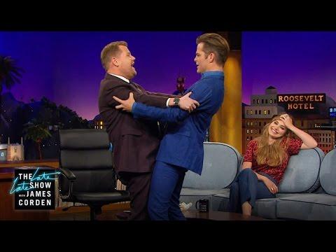 Awkward Hugs with Chris Pine